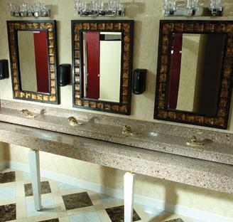Lancaster vanity